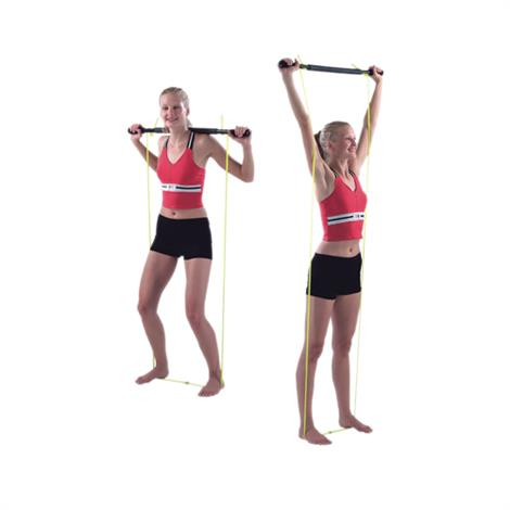 "CanDo Unweighted Padded Exercise Bar With Tubing,36"" x 2"" x 2"",Each,#10-2979"