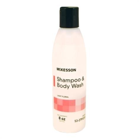 McKesson Rinse-Free Shampoo and Body Wash,8 oz. (237 mL),48/Case,53-27913-8