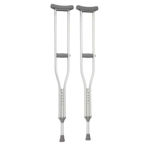 Cardinal Health Bariatric Steel Crutch,Adult,8/Pack,CA801ADBR