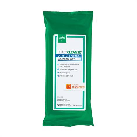 "Medline ReadyCleanse Perineal Care Cleansing Cloth,8"" x 8"",5/Pack,30Pk/Case,MSC095311"