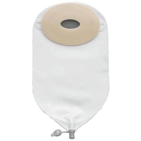 Nu-Hope Classic-Oval One Piece Urinary Precut Regular Convex Ostomy Pouch,10/Pack,8634-C