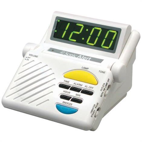 Sonic Boom Alarm Clock,Alarm Clock with Bed Vibrator,Each,SB1000V