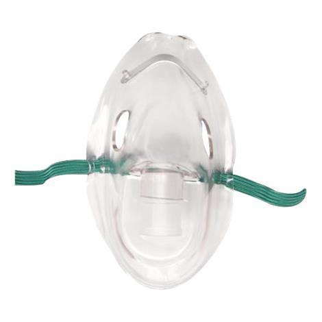 Salter Aerosol Therapy Mask,Aerosol Adult Elongated Mask,With Elastic Headstrap,50/Case,8100-0-50