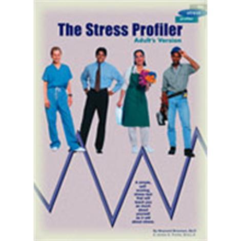 Stress Stop The Stress Profiler Workbook,Stress Management Workbook,50/Pack,WB1