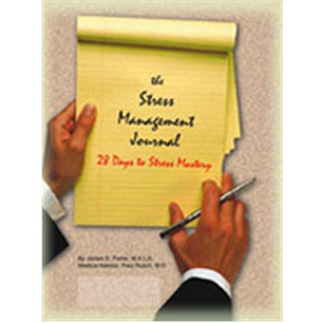 Stress Stop The Stress Management Journal Workbook,Stress Management Workbook,50/Pack,WB2