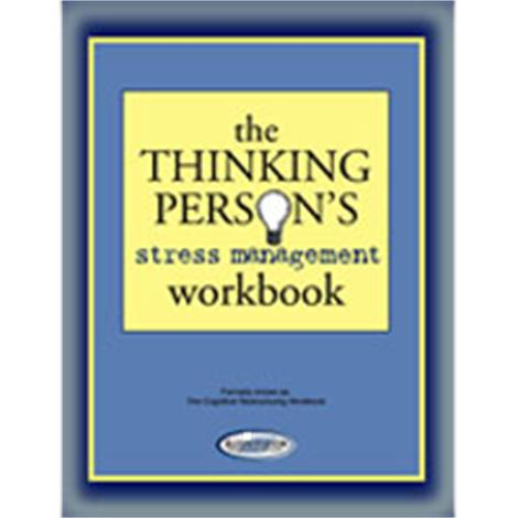 Stress Stop The Thinking Persons Stress Management Workbook,32 Page Workbook,50/Pack,WB3