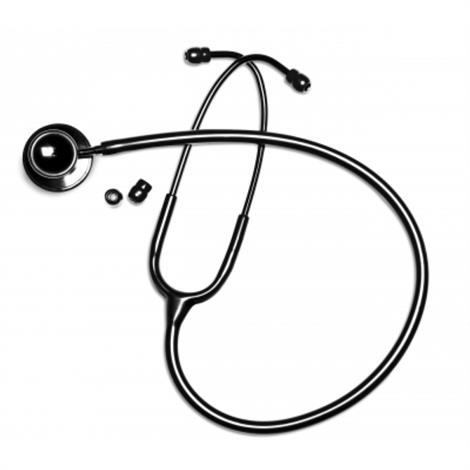 Graham-Field Panascope Deluxe Dual Head Stethoscope- Midnight Black,Midnight Black,Each,500BK