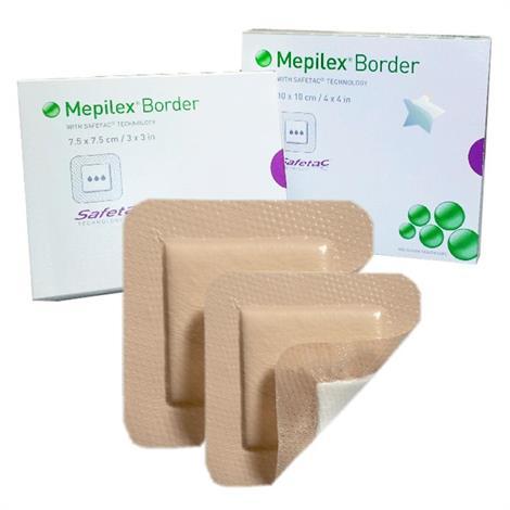 Molnlycke Mepilex Border Self-Adherent Foam Dressing - Value Pack,4 x 8,Post Op,70/Case,295800