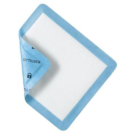 Medline Optilock Non-Adhesive Super Absorbent Wound Dressing - Value Pack,6.5 x 10 (16.5cm x 25.4cm),100/Case,MSC64610EP