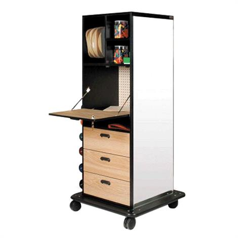 "Hausmann Mega Storage Weights Rack,32""W x 32""D x 72""H,Each,5562"