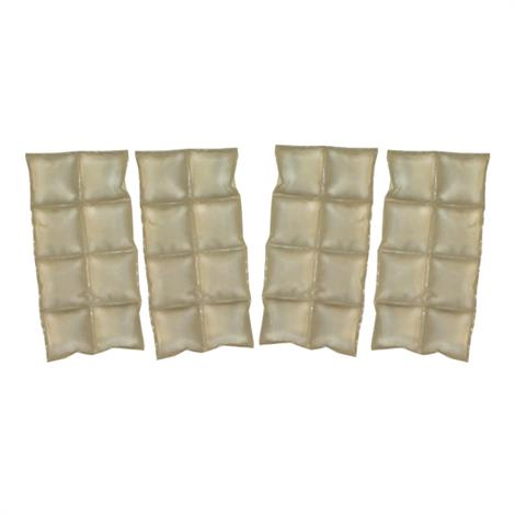 TechNiche Coolpax Cooling Inserts With Hook And Loop Stabilizer,Set Of 4,Each,7065-V