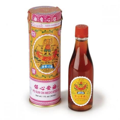 Lhasa OMS Po Sum On Oil,1 fl. oz.,30 ml,Bottle.,Each,POSUMON.OIL