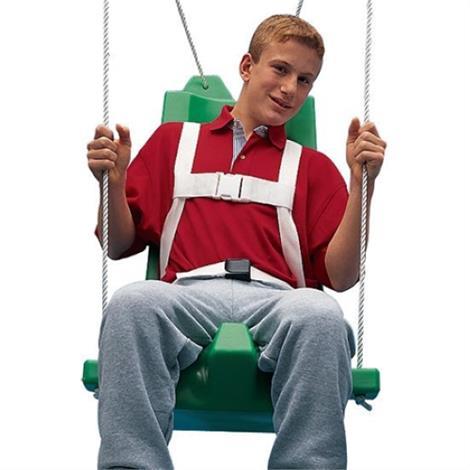 FlagHouse Swing Seat With Pommel,Medium,Each,35526
