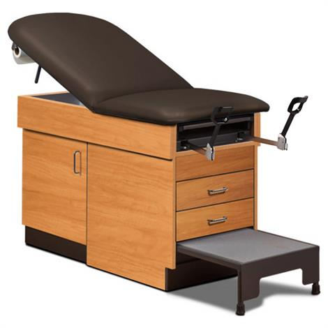 Clinton 8890 Family Practice Exam Table With Step Stool,0,Each,8890