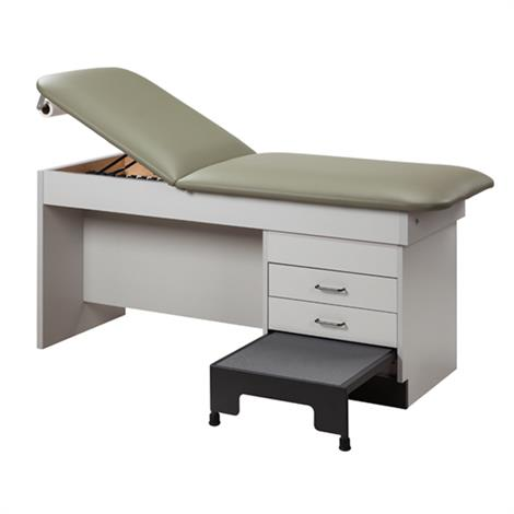 Clinton 9402 Manual Back Treatment Table with Integral Step Stool,0,Each,9402