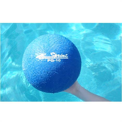 Sprint Aquatics 16 Inch Rubber Exercise Ball,Blue,Each,Spa144