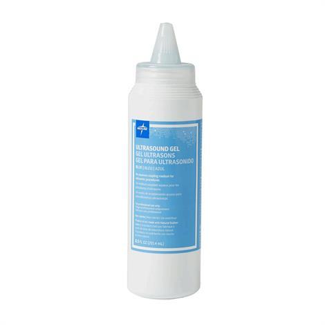Medline Ultrasound Transmission Gel,8.5 oz,Squeeze Bottle,12/Pack,MDS092005