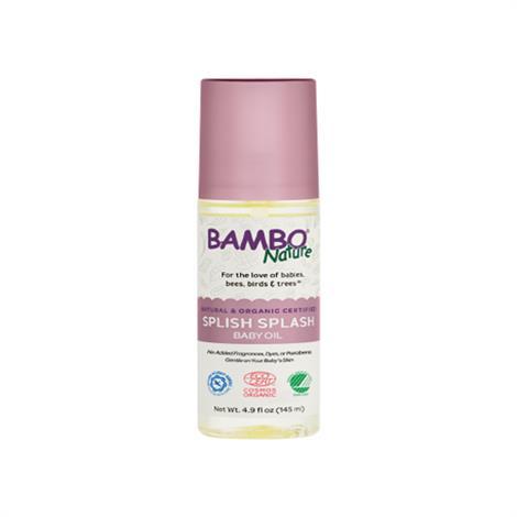 Abena Bambo Nature Splish Splash Oil,4.9 fl oz (145 ml),Each,150254