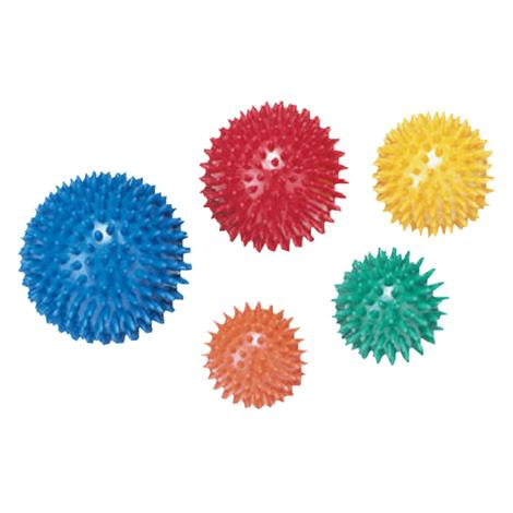 "CanDo Massage Ball,Blue,10cm(4""),Each,30-1998"
