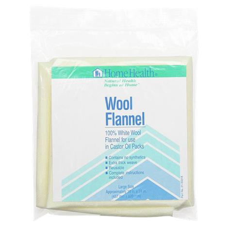 Home Health Wool Flannel,18 x 24,Each,095822-3