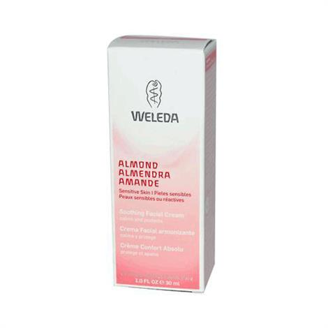 Weleda Face Cream,Almond,1oz,Each,AY48445