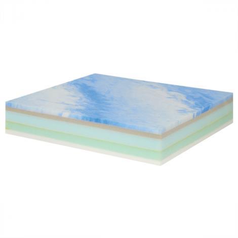 """Image of Sammons Preston Deluxe Memory Foam,20""""W x 18""""D,Each,81714872"""