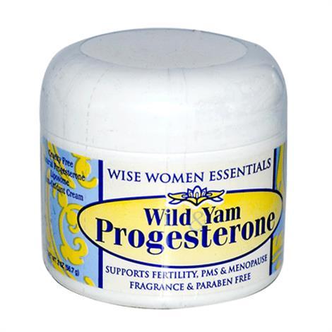 Wise Essential Wild Yam Progesterone Cream,2oz,jar,Each,92221