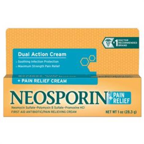Johnson & Johnson Neosporin Pain Relief Cream,1 oz,Each,23779