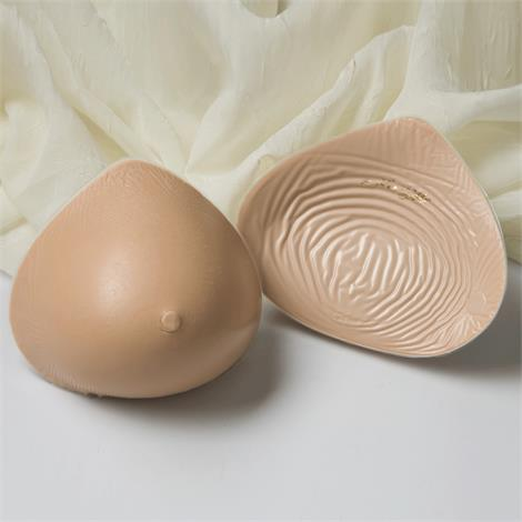 Nearly Me 785 LITES Tapered Triangle Lightweight Silicone Symmetrical Breast Form,Size 2, Beige,Each,20-400-02 NM20-400-02