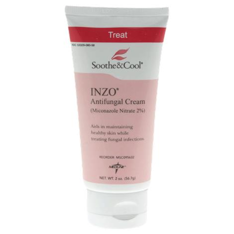 Medline Soothe and Cool INZO Cream,2oz Tube,24/Case,MSC095632