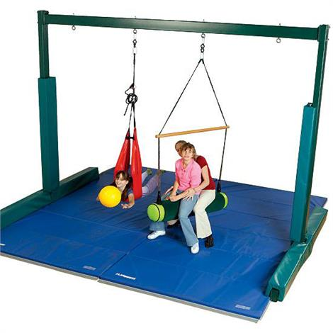 FlagHouse Sensory Integration Support System,7.5ft H x 10ft W,Each,40134