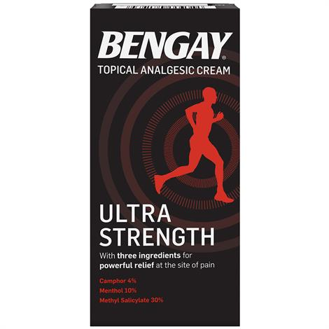 Bengay Ultra Strength Topical Analgesic Pain Relieving Cream,4 oz,Each,510819400