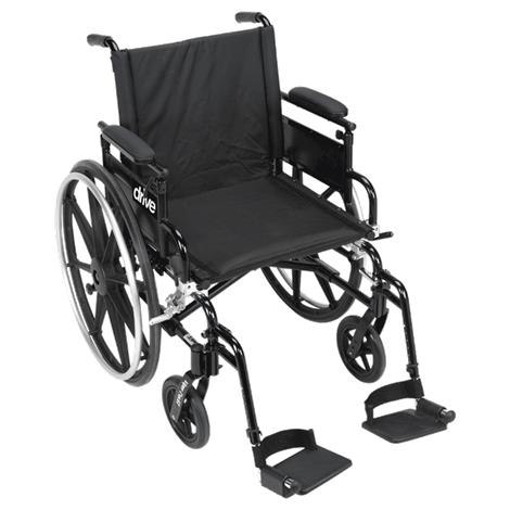 Drive Viper Plus GT-Deluxe High Strength Lightweight Dual Axle Wheelchair with Seat Extension,Each,PLA416FBDAARAD-ELR