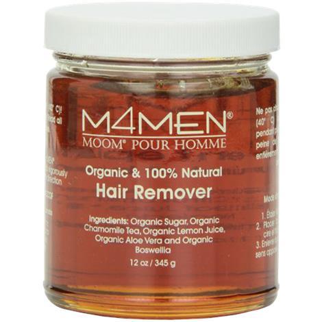 Moom Hair Removal System Refill Jar For Men,12oz,Each,M4M12 082571-1