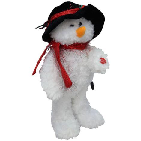 Walter The Dancing Snowman,7-1/2 L x 5 W x 14 H,Each,9322
