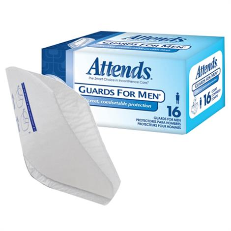 Attends Guards for Men,One Size Fits Most,16/Pack,4Pk/Case,MG0400