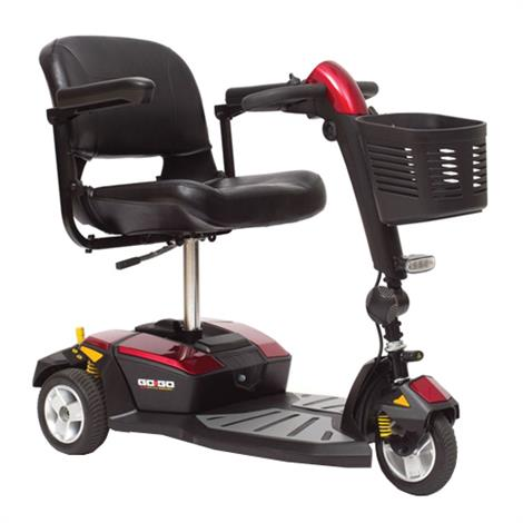 Pride Go-Go LX Three Wheel Travel Mobility Scooter With CTS Suspension,0,Each,S50LX