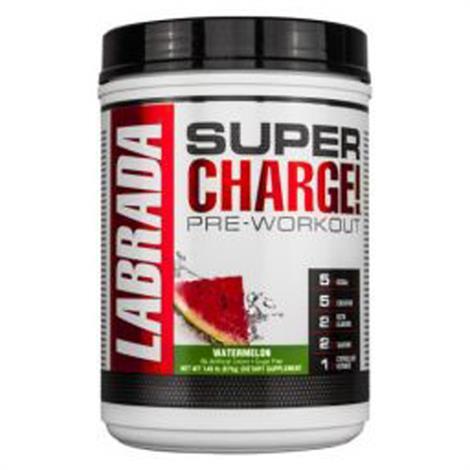 Labrada Supercharge Pre Workout Dietary Supplement,Grape 675g,Each,790641