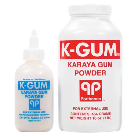 Parthenon K-Gum Karaya Ostomy Powder For Peristomal Skin Protection,16oz Bottle,Each,K-GUM