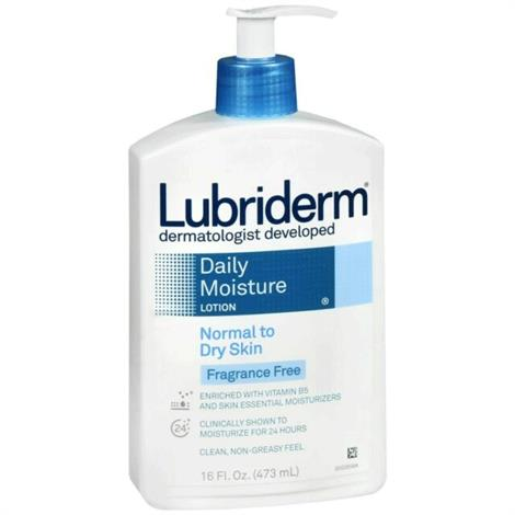 Cardinal Health Lubriderm Fragrance-Free Lotion,16 oz,Each,1044940