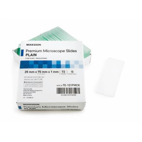 McKesson Microscope Slide,Extra Frosted,1440/Case,70-109PMCK