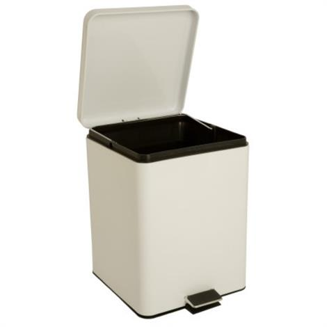 Mckesson Waste Can,White,Each,81-35269