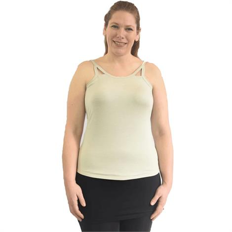 Complete Shaping Mastectomy Cut Out Tank Top,0,Each,CS-COT