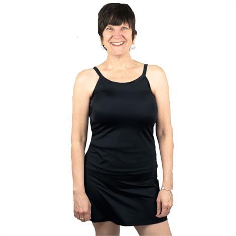 Complete Shaping Mastectomy Tankini Swim Top,0,Each,CS-SWT