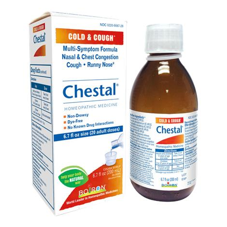 Boiron Chestal Cold And Cough Syrup,6.7 fl Oz,Each,228429