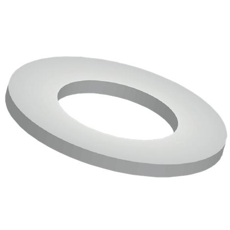 "Big John Toilet Support Stop,1.375"" Inner Diameter x 2.5"" Outer Diameter,Each,1-SS"