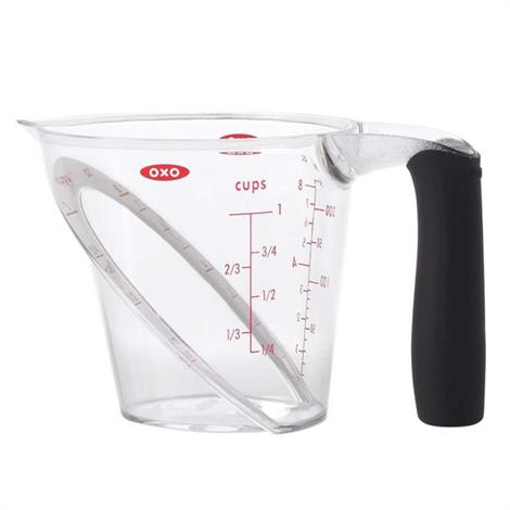 """OXO Good Grips Angled Measuring Cup,Capacity 1 Cup,6"""" x 4"""" x 4"""",Each,70881V3"""