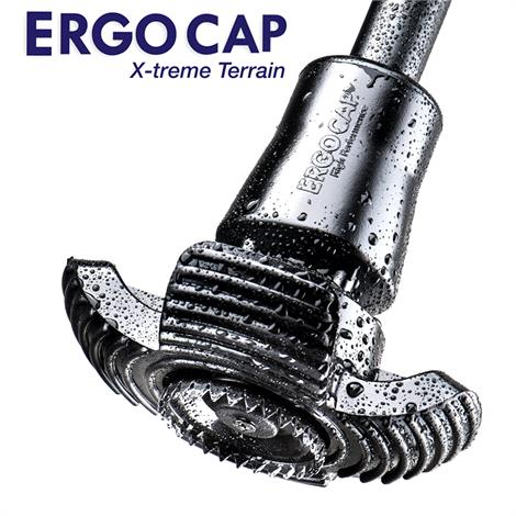 Ergoactives ErgoCap X-Treme Terrain Cane and Crutch Tip,Universal Cane/Crutch Replacement Tip,Each,A030-1