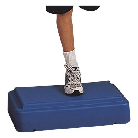 """FlagHouse Fitness Step,26 1/2""""L x 15-1/2""""W x 4""""H,Green,Each,30628"""