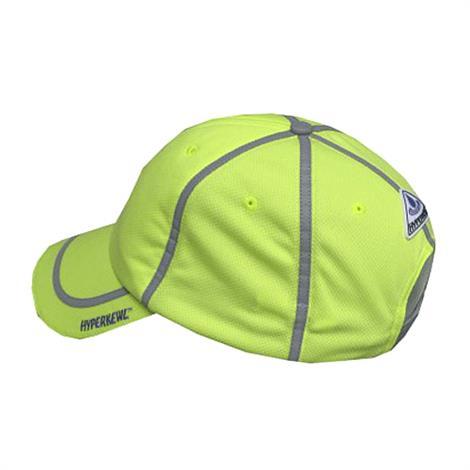 TechNiche Hyperkewl Evaporative Cooling Hi Viz Baseball Cap,Hi-Viz Lime,Each,6595